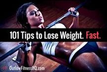 101 Tips to Lose Weight Fast / If you're having trouble losing weight, I've put together a list of 101 tips to help you lose weight in a hurry. Most of them are just little changes, but little changes implemented over a long time can add up to a major difference to the shape of your body. Not all of them will help everyone, but you might just stumble upon 1 or 2 that will really resonate with you and change your results dramatically. To see the full list, go here: http://www.outlawfitnesshq.com/101-tips-to-lose-weight-fast/