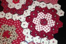 Quilt Hexegon and other / Quilting