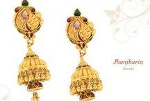 Jhumka / Jhumka | Gold Jhumka Jhumki | Gold Jhumki | Wedding Accessories