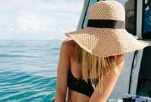Sun Care / Helpful tips to stay safe from the sun when relaxing pool side