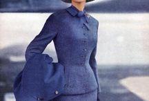 50s | Suits / Christian Dior, Jacques Fath, Pierre Cardin, Pierre Balmain, Cristóbal Balenciaga, Jeanne Lanvin , Hubert de Givenchy, Lilli Ann