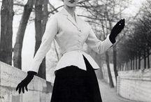 Christian Dior / 1947-57 (by CD), 1957-60 (by YSL), 1961 - Marc Bohan