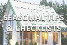 Season Maintenance Tips and Checklists