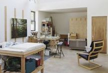 Home & Studio Inspiration / Stuff for home, beautiful spaces, interior design and studio layouts...