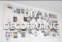 DIY Decorating / DIY decorating ideas and inspiration from Team Mazzolino.