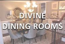 Devine Dining Rooms / Dining room ideas from Team Mazzolino.