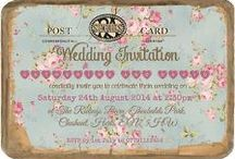 #Wedding #Invitations / To ensure you get the right guests to your #wedding really think about grading their attention with your #invite