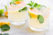 Party Beverages & More / Beverages to get the party started!  Inspiration beyond wine and beer.