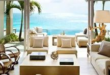 Lake & Ocean Front Homes / Who wouldn't want a home on the water and rooms with a water view?  Yes, please!