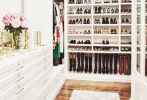 Closets to Envy / Beautiful closets to keep you organized!