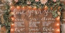 #Take #Your #Seat: #Wedding #Table #Seating #Plans / After all that careful planning -  who sits where - it is important that your guests find their seats quickly so think and take time to get the right #seating #plan