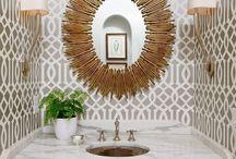 Bathroom Design Inspiration / Beautiful Master Baths and Guest Baths.