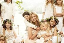 #Flower #Girls / If you have a relative or friend with a pretty, cute daughter to have a flower girl is perfect as she walks in front of the bride during an entrance processional. She may spread flower petals on the floor but one thing is for sure she will spread joy