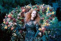 #Pre-Raphaelite #Wedding / If like me you spent many hours looking at the near perfect women painted in #Pre-Raphaelite paintings, this images will hopefully inspire you when choosing your wedding dress or for your photos on the big day