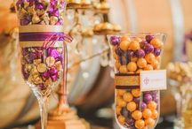 #Sweety #Tables / It is all the rage to have a #sweety #table/ #chocolate or #jelly #bar /#shop /#trolly at your #wedding so why not celebrate all things #candy and be inspired by these pins www.theweddingowl.com