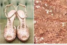 Rose Gold Wedding / Our new favorite obsession with Rose Gold