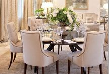 Dining Rooms for Entertaining / There is nothing better than having friends and family around your dining table to enjoy delicious food and great company.