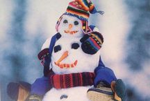 Winter at its Best! / The bright side of winter!  Gorgeous winter scenery and fun and clever snowmen.