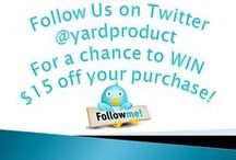Contests/Promotions / Check out our featured promotions and contests here!  / by Dreamscape: Yard Product