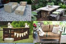 Outdoor DIYs / A Collection of #DIY projects and ideas!  #Landscaping