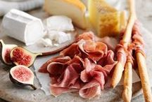 Cheese Platter Inspiration / Beautifully presented cheese and accoutrements.  The easiest appetizer ever.  Scroll through and get inspired.