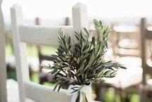 [Olive leaves Ideas   Ideas hoja de olivo] / Weeding OLIVE TREE ideas, Bodas decoradas con hojas de olivo, ideas aceite de oliva, boda, bodas, decoracion