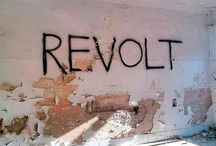 B@ REVOLTE / We neeeeed the fight. Free people and their minds. Break away the chains of Capitalism and Greed