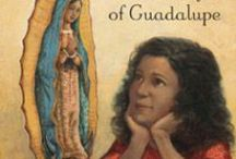 """The Beautiful Lady: Our Lady of Guadalupe / A picture book by Pat Mora, illustrated by Steve Johnson and Lou Fancher. """"The author pays loving tribute to Mexico's Nuestra Señora de Guadalupe, the most noted appearance of the Virgin Mary in the Americas, framing this story with a family's sharing traditions surrounding the celebration of her feast day, December 12.""""--School Library Journal"""