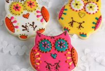 Owl Cookies /  Inspiration and decorating ideas for cookies.  / by Carmen Wills