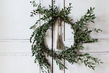 christmas / ornaments • christmas decorations • wreaths