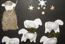Knutselen kerstmis / Leuke ideetjes om te knutselen voor alle leeftijden