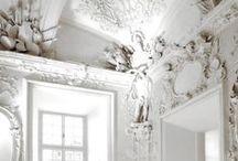 grandeur / baroque • fresco • fretworks • chandeliers