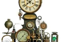 Automatons and Kinetic Sculpture / the gears go round and round / by anna graham