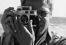 Vintage cameras and celebrities