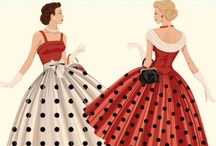 Seeing spots / A brief history of the polkadot. What does the polkadot mean to you? Do you think of the song (itsy, bitsy ... ), or the fifties? Or maybe a dot-to-dot pattern?