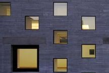 facades design. / different materials. poetic compositions.