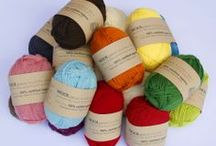 WOOLganic Yarns 8 ply / WOOLganic 8 ply yarn shades