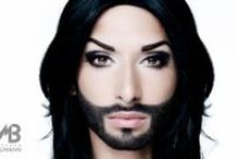 Conchita Wurst - Austrian singer and drag personality / Conchita Wurst - Austrian singer, drag personality & Eurovision Song Contest participants 2014 photographed at 25hours-hotels in Vienny on july 13, 2012 © ManfredBaumann