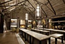 bars and restaurants. / bar and restaurant design with an unique atmosphere.
