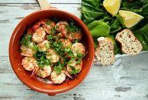 seafood / mariscos / eat delicious