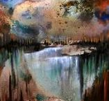Painting by Irene Russo / Psintings by Irene Russo #painting #art #contemporaryArt #landscape