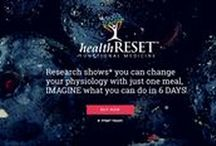 healthRESET / You can change your physiology with just one meal. IMAGINE what you can do in 6 DAYS! Register here today for our January 18th healthRESET!