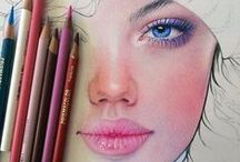 Colour Pencil Drawings