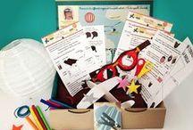 Les créations de l'atelier imaginaire / Tous les ateliers, les illustrations et les box de l'atelier imaginaire!