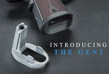 The Chen Magwell Gen2 / The Chen Magwell Gen2 is the ultimate in 1911 magwells. The Gen2 Magwell is the largest magwell opening you can get without adding length or width to your 1911. It provides a huge magazine well opening while staying tactically sound and easily concealed. Did we mention it is one piece and requires no welding?  Read more at: Chencustom.com