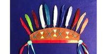 Box janvier : Sur les traces des indiens sioux / Toutes nos inspirations et les photos de la box de janvier de l'atelier imaginaire sur le thème des indiens sioux!