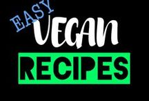 Easy Vegan Recipes / Easy vegan recipes most of which you can whip up in 30 minutes or less. If you would like to collaborate on this board then email me at samhodges1988@gmail.com