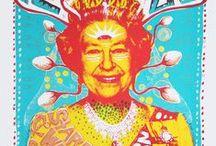 funky posters / beautiful inspiring poster and album art