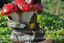 Fairy Houses / Fairy Houses, Fairy Homes, and Fairy Cottages