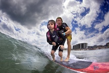 Surf Camps Reach Out to Special Needs Kids and Adults / Wrightsville Beach, NC - Named as one of the World's 20 Best Surf Towns by National Geographic, Wrightsville Beach is a small surf town with a big heart for special needs kids and adults.